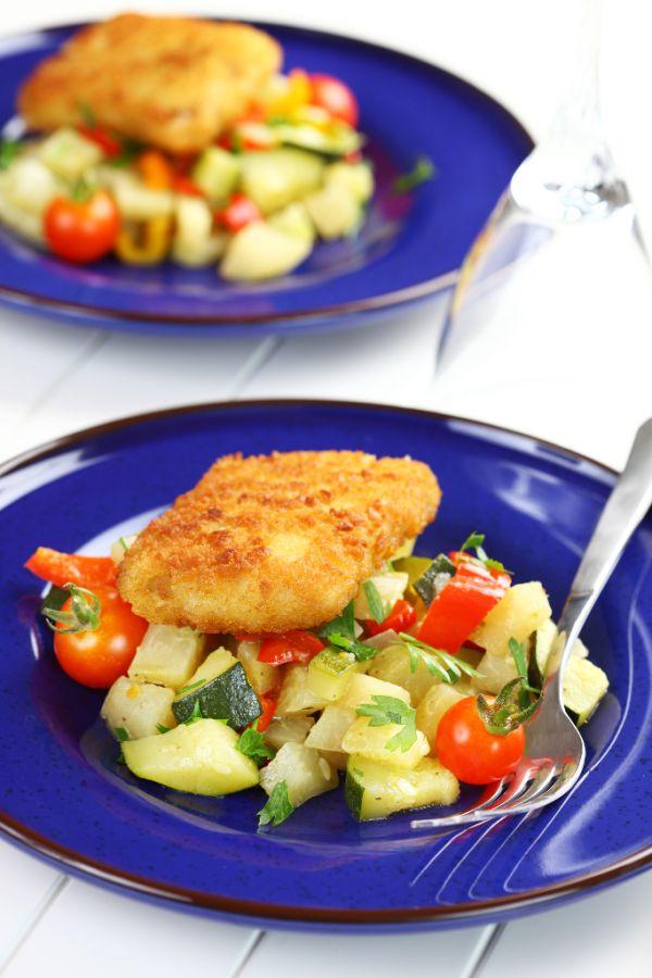 Rybie filé na zelenine |