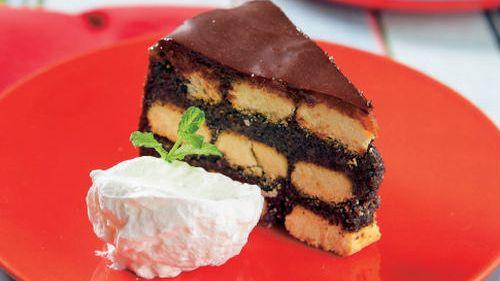 Nepečená maková torta |