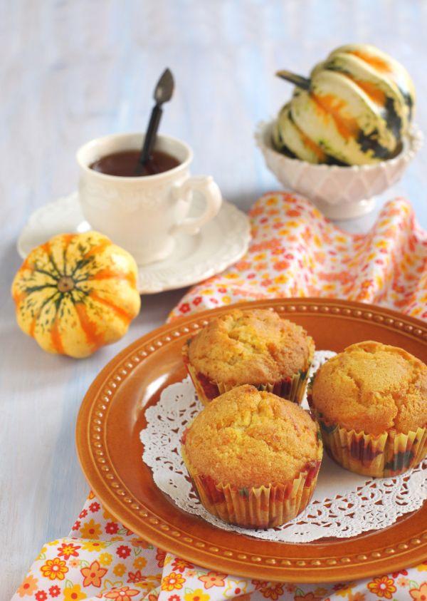 Tekvicové muffiny so zázvorom |