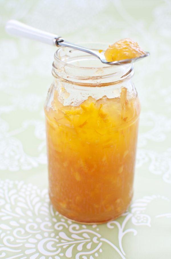 Domáca pomarančová marmeláda |