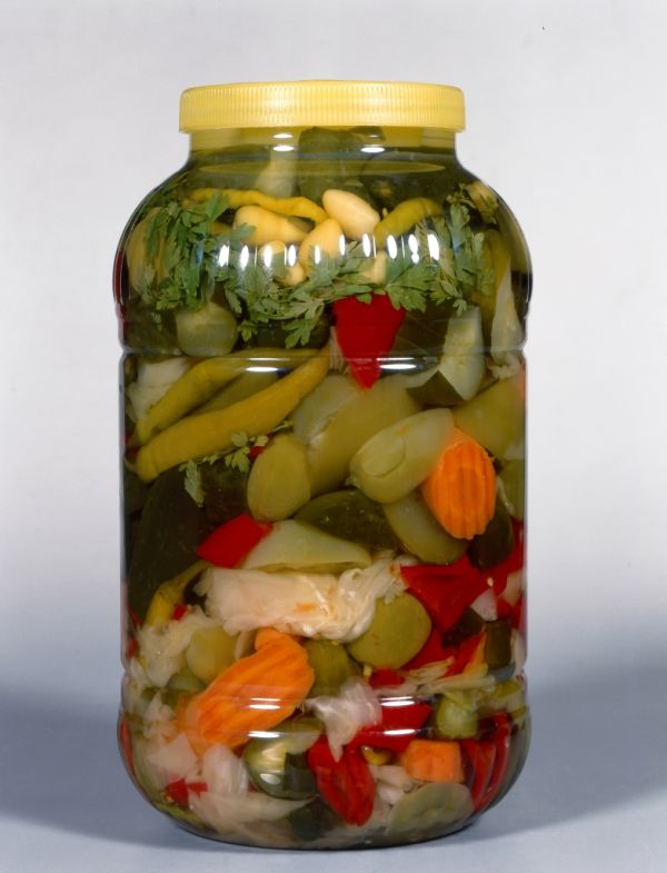 Miešaná zelenina v octe |