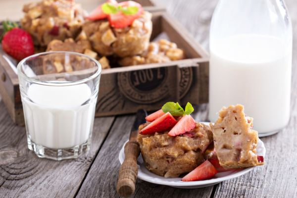 Jablkové muffiny bez múky |