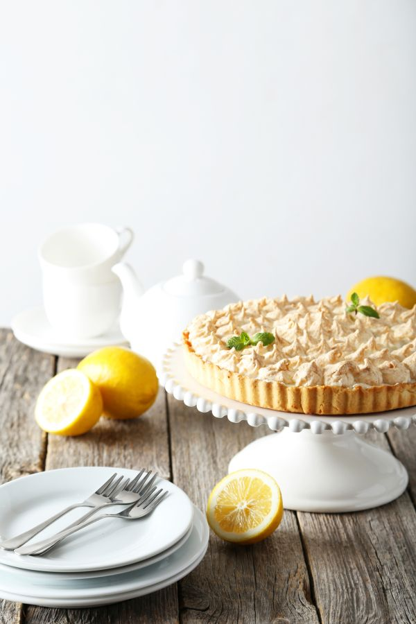 Citrónový koláč so snehom  Lemon meringue pie |