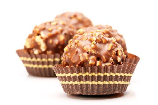 Čokoládové guľky |