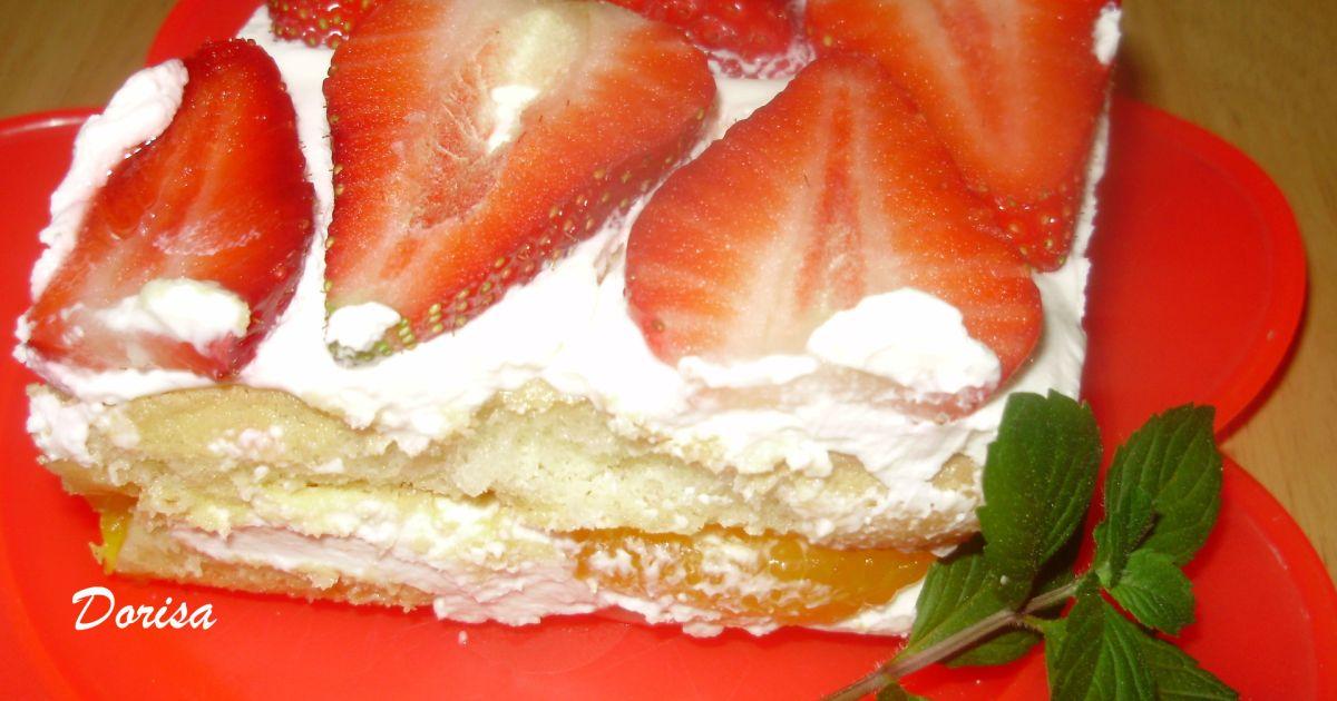 Nepečený ovocný koláč, fotogaléria 1 / 2.