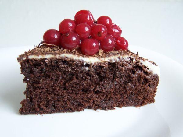 Voňavý čokoládový koláč |
