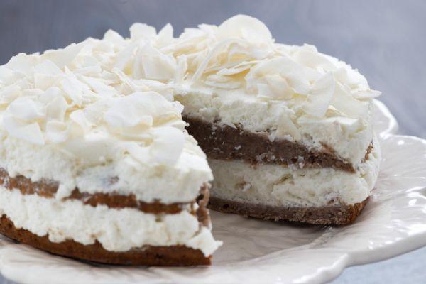 Torta s kokosovou penou |