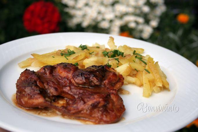 Marinované kura