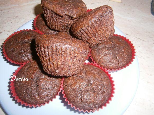 Muffiny z kozieho mlieka s čokoládou Margot ...
