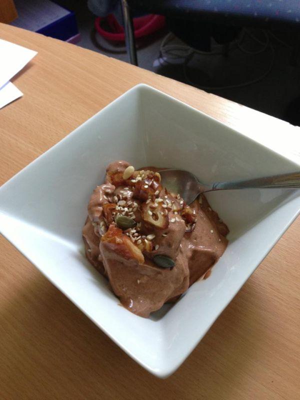 Raw-vegan banánovo-čokoládová zmrzlina |