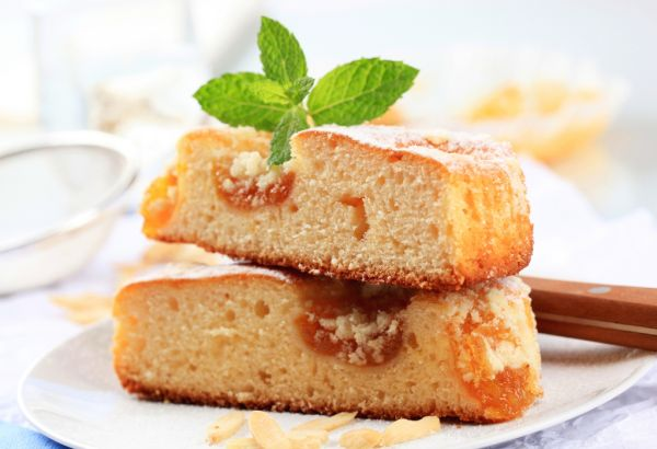 Rýchly marhuľový koláč |