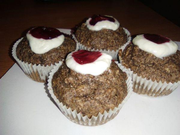 Muffiny s ovsenými vločkami a makom |