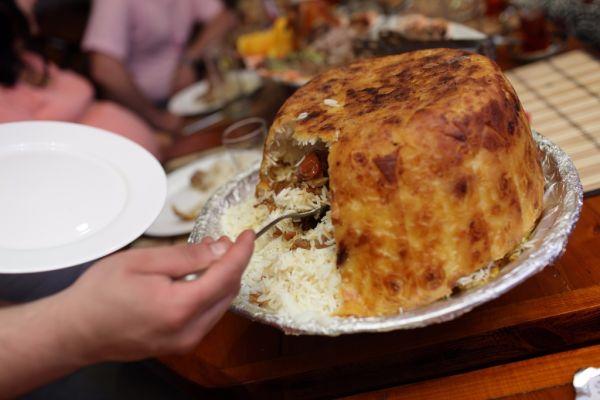 Baraní pilaf indický  