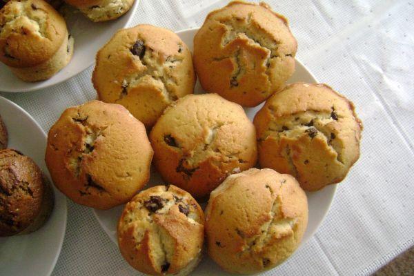 Muffiny s kúskami čokolády |