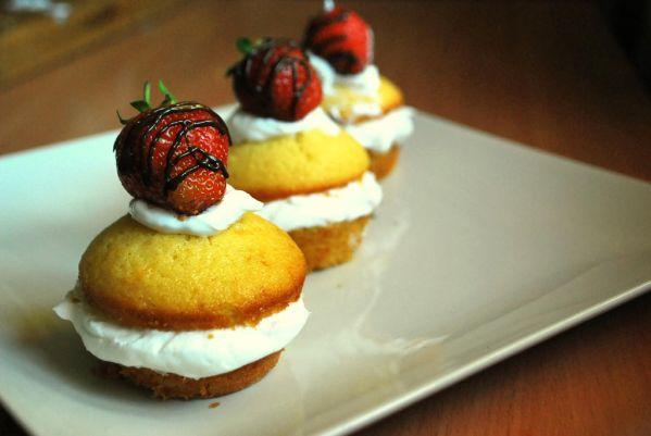 Jahodové tortičky |