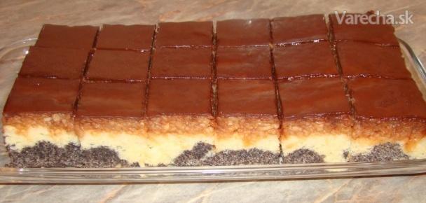 Obrátený jablkovo-makový koláč (fotorecept) - Recept ed0b31c7e11