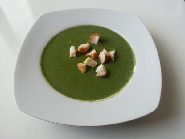 Špenátová polievka |