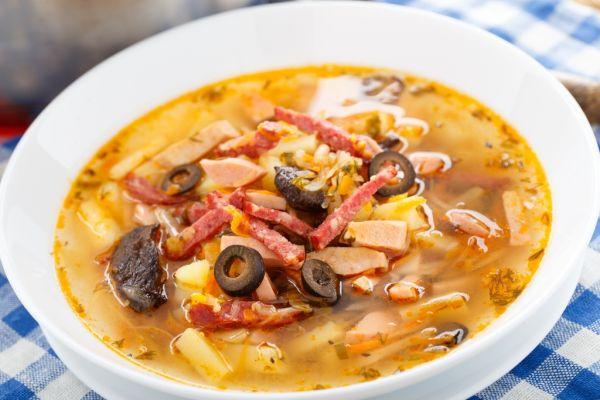 Bravčová polievka  