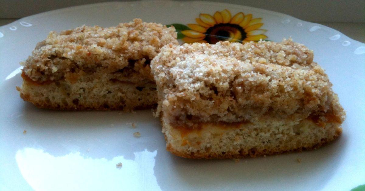 Chrumkavý špaldový koláč s marhuľami, fotogaléria 1 / 1.
