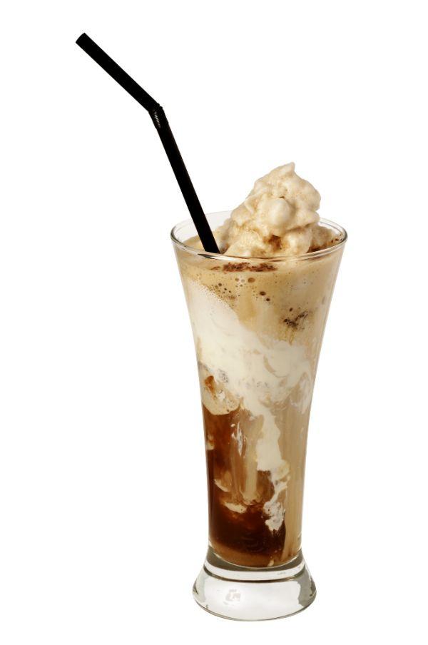Ľadová káva so zmrzlinou |