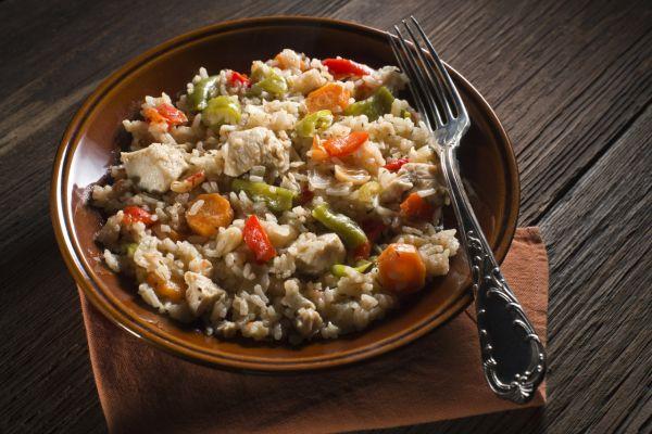 Kuracie rizoto so zeleninou |