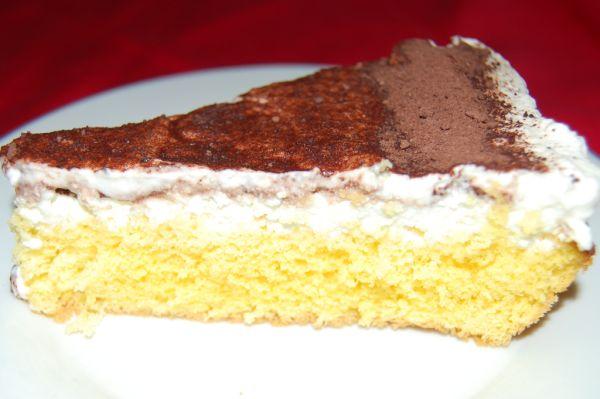 Tvarohovo-šľahačková torta |