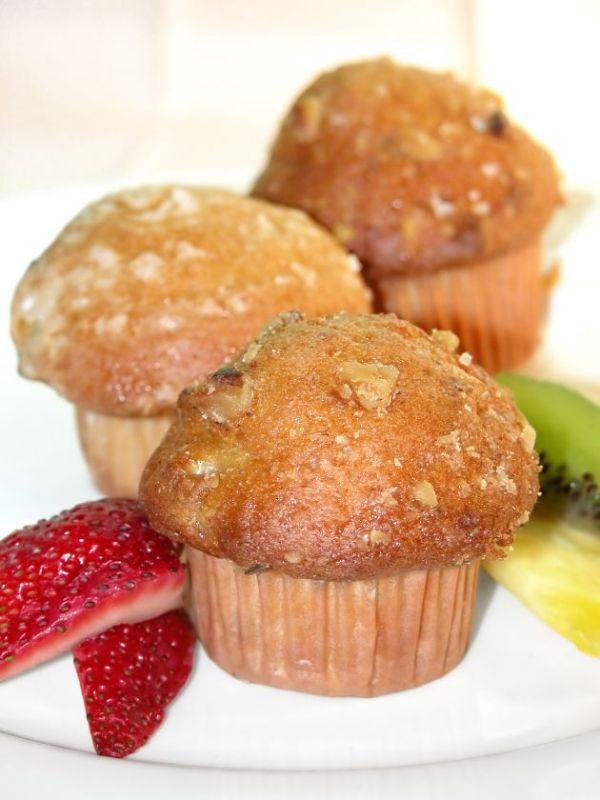 Ananásovo-mrkvové muffiny |