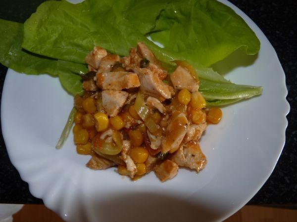 Kuracie soté so zeleninou |