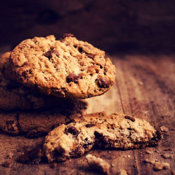 Kokosové cookies s kúskami čokolády |