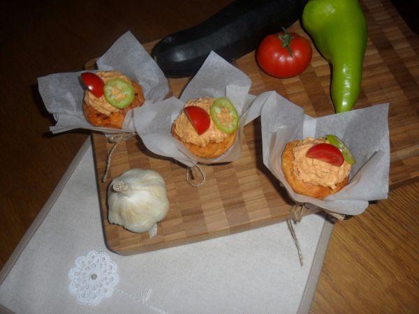 Syrovo-cuketové cupcakes |