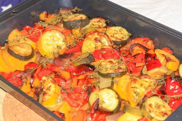 Pečená zelenina s rozmarínom  