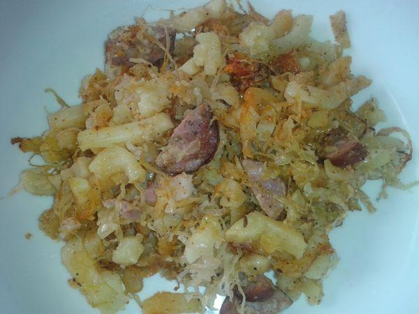Francúzke zemiaky s kapustou |