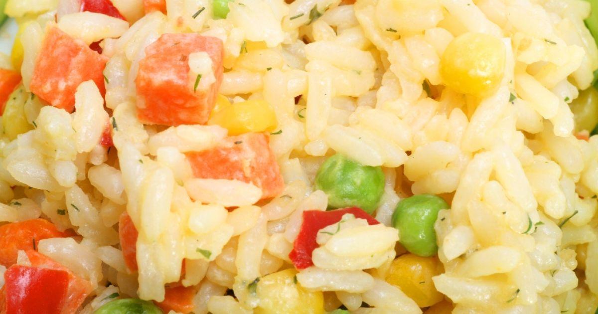 Ryžový šalát so zeleninou, fotogaléria 1 / 1.