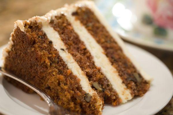 Svieža mrkvová torta |