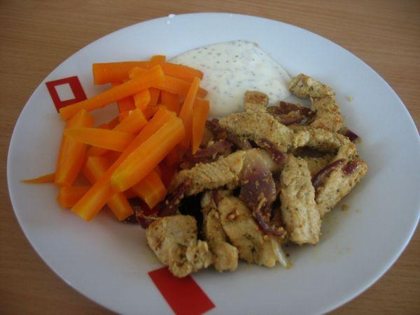 Morčacie pečené s mrkvou |
