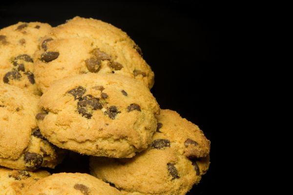 Tvarohové sušienky s kúskami čokolády |