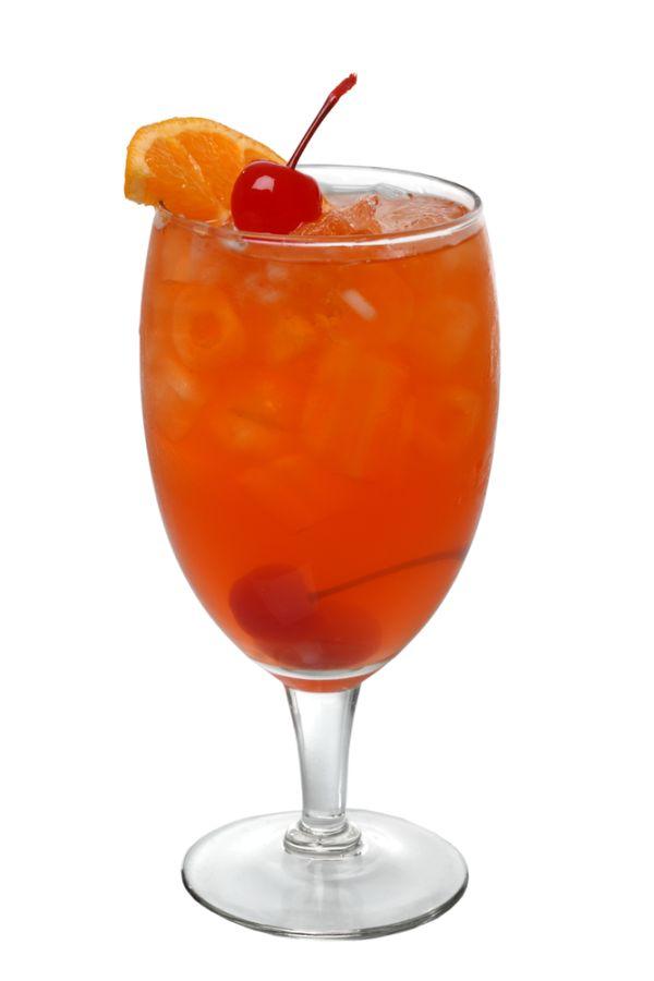 Nealkoholický pomarančový koktail |