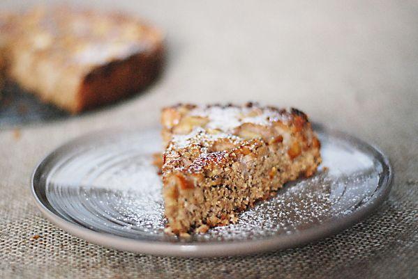 Kokosovo-orechový hruškový koláč bez múky ...
