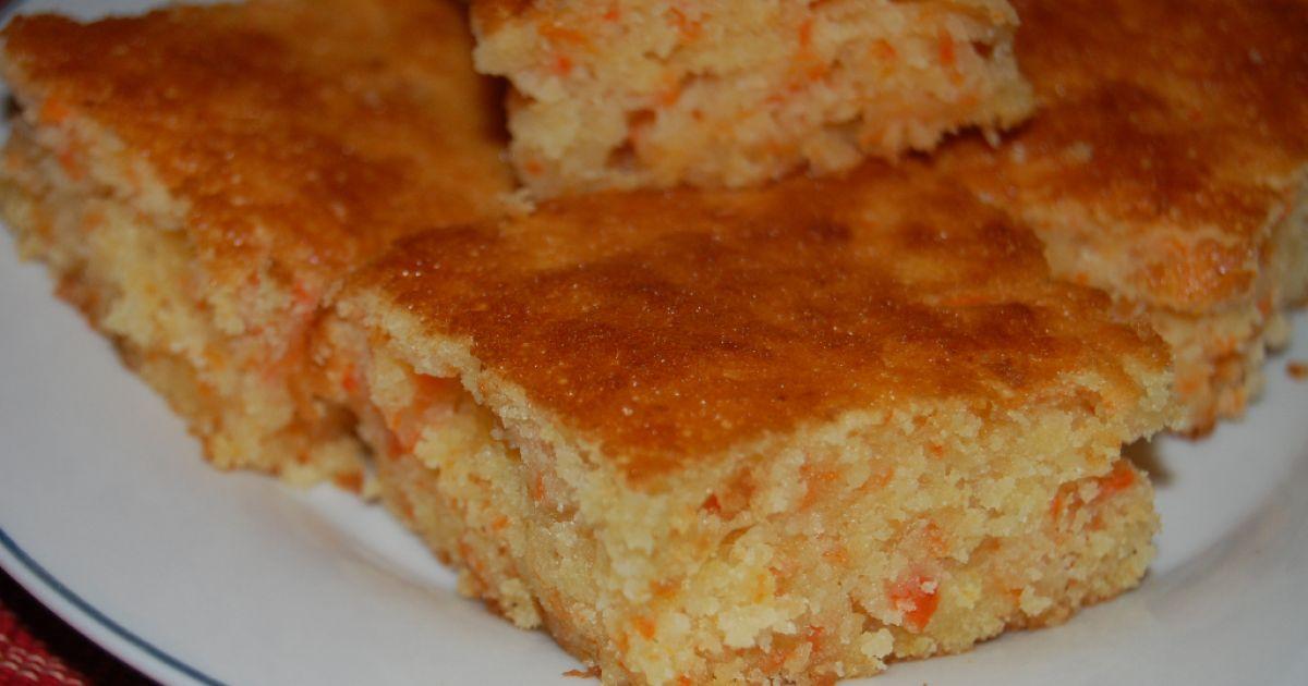 Mrkvovo-kokosový koláč, fotogaléria 1 / 9.