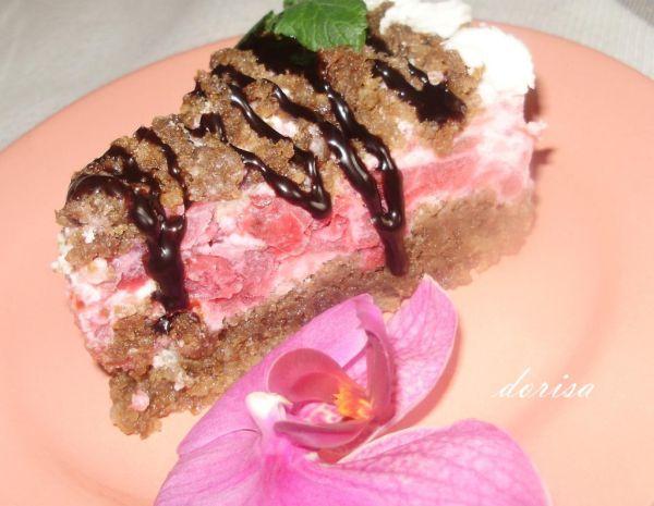 Orechová torta s višňami |