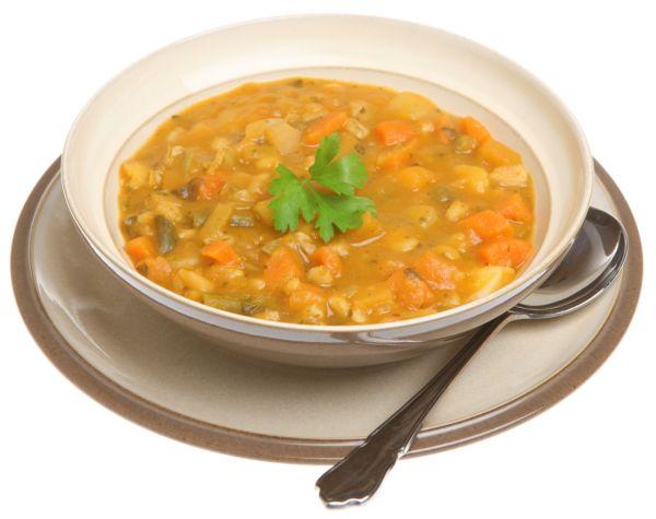 Zeleninová polievka so zápražkou  