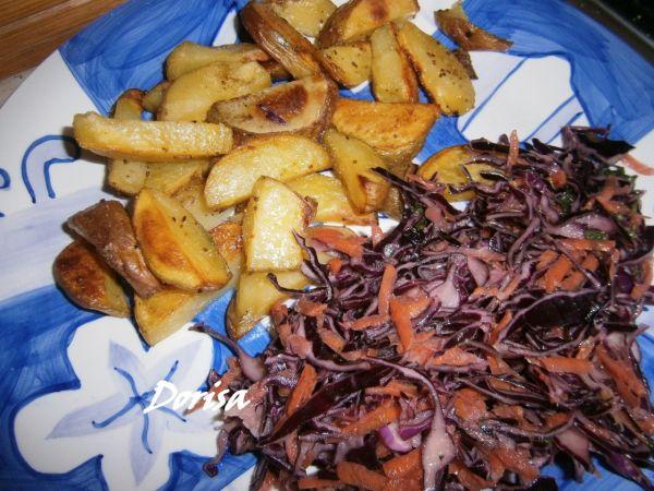 Kapustový šalát s mrkvou |