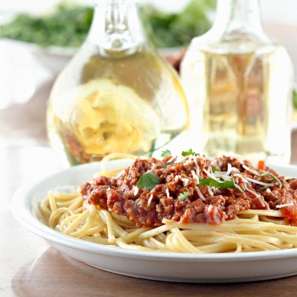 Špagety s mletým mäsom |