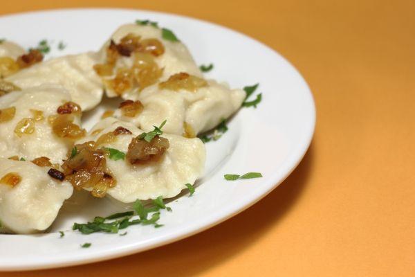 Bryndzové zemiakové pirohy |