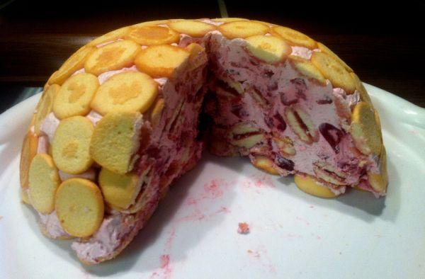 Čerešňová krtkova torta |