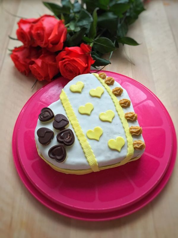Valentínska torta |
