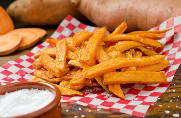 Hranolky zo sladkých zemiakov |