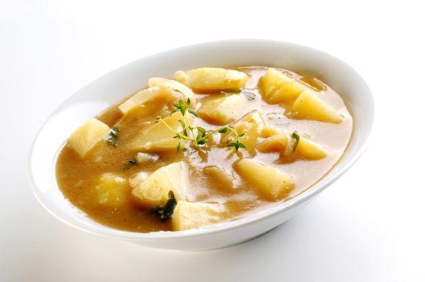 Sýta zemiaková polievka  
