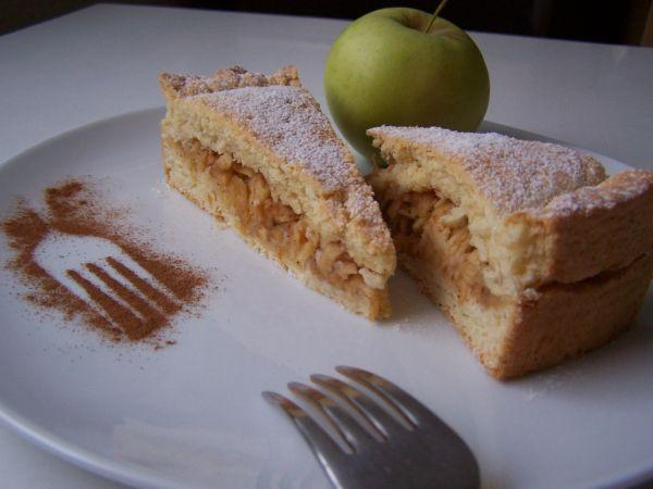 Jablkovo-citrónový koláč |