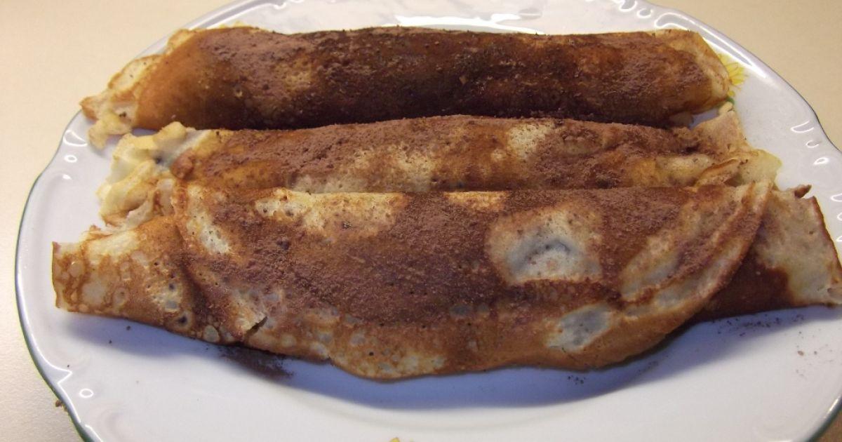 Palacinky zo sójového mlieka s jabĺčkami, fotogaléria 1 / 5.
